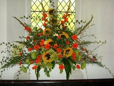 Church Flower Festival : Grows on You  www.tablescapesbydesign.com https://www.facebook.com/pages/Tablescapes-By-Design/129811416695