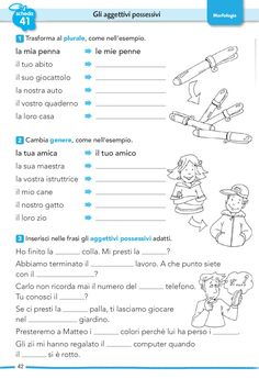 Italian Grammar, Italian Vocabulary, Italian Language, English Writing Skills, Teaching English, Italian Courses, Learning Italian, Good Life Quotes, Home Schooling