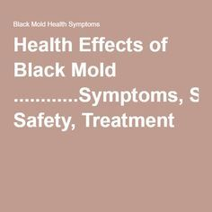 4551 Best Black Mold images | Get rid of mold, Mold in ...