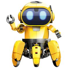"""awesome Elenco Teach Tech """"Zivko The Robot"""", Interactive A/I Capable Robot with Infrared Sensor, STEM Learning Toys for Kids Ai Robot, Robot Kits, Stem Learning, Learning Toys, Sierra Leone, Ghana, Taiwan, Puerto Rico, Smart Robot"""