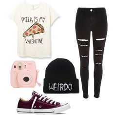 Untitled #98 by merima2002 on Polyvore featuring River Island, Converse, women's clothing, women's fashion, women, female, woman, misses and juniors