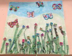 suite exposition printemps chez Myriam I: tribune libre - école petite section Spring, Visual Arts, Preschool, Atelier