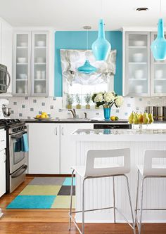 Image Detail For Turquoise Decor Ideas Chapman House Home Kitchen Redo
