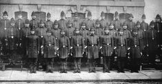 Grimsby Borough Police Group, August 1879 Police Crime, British History, Police Officer, Photo Art, The Darkest, New York Skyline, Group, Law, Victorian