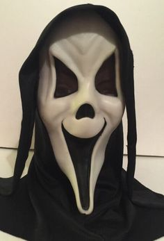 Vintage Scream Mask Fearsome Faces Fantastic Faces Ghost Face Fun World Div | eBay