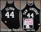 For Sale  - George Gervin 1982-83 San Antonio Spurs Game Worn Jersey   HOF  Eastern Michigan