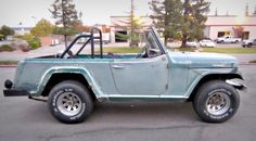 A 1968 Jeepster Commando 4x4 on Government Liquidation! This Jeepster deserves some fun!