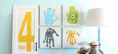 27 coole ideeën om te vingerverven ooit met kindjes?