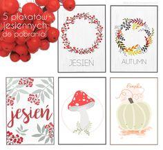 plakaty do druku do pobrania dekoracje jesienne grafika jesień