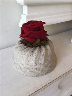 Beton Kuchen Geburtstag Gugelhupf Rose