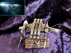 EVE online, Kestrel frigate, printed, coloured and finished. Kestrel, Eve Online, 3d Artist, 3d Printing, How To Make Money, It Is Finished, Texture, Printed, Christmas Ornaments
