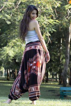 Black Thai Hippie Pants www.hippie-pants.com