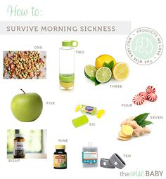 How to Survive Morning Sickness