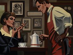 Server by Kenton Nelson