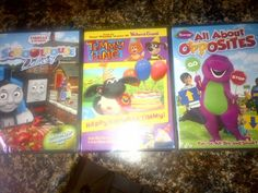 Locomotion of Expressions: 8/15 Lionsgate/HIT DVD review of Thomas, & Friends: Schoolhouse Delivery, Timmy time: happy Birthday Timmy, & giveaway for Barney: All About Opposites