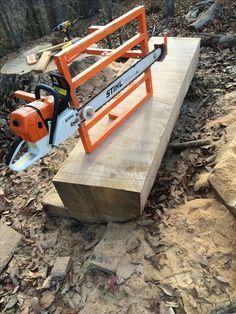 My homemade chainsaw mill (Eugene Schwanbeck) [] # # # # # #