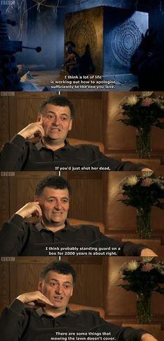 Steven Moffat. haha.
