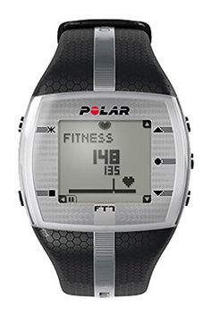 polar ft4 heart rate monitor watch silver black polar polar ft7 men s heart rate monitor black silver polar