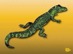 Alligator Free Vector Silhouette Clip Art, Animal Silhouette, Free Vector Images, Vector Free, Nature Vector, Zoo Animals, Exotic Pets, Sea Creatures, Vector Graphics
