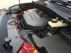 2016 Ford Escape Titanium engine compartment.