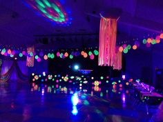 Glow/black light party