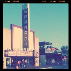 Old Granada Theater on Lower Greenville - Dallas