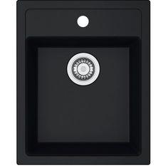 DESA 610-40 TEC-GRA vask / Bredde: 43 cm / Farve: Sort grafit