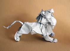 Draft new version of the lion | I'm refolding my Lion, bring… | Flickr