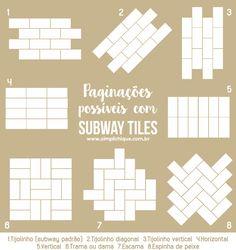 Subway Tile Kitchen, Subway Tiles, White Kitchen Furniture, White Wall Tiles, Art Deco Bathroom, Tile Layout, Sink Design, Design Design, Metro Tiles