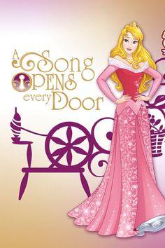ディズニー プリンセス 『オーロラ姫』イラストアイデア ♡