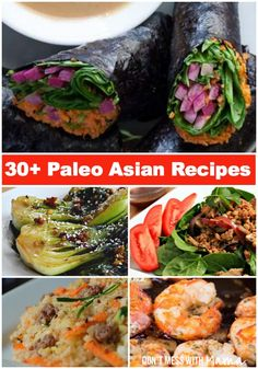 30+ Primal & Paleo Asian Recipes #paleo #recipes #glutenfree - DontMesswithMama.com