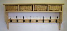 Basket shelves - Shaker Peg Rails - Country Shaker