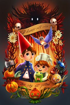 WeLoveFine Over the Garden Wall Fan Forge Hey, everyone! WeLoveFine is running an Over the Garden Wall themed fan forge and my design is up for vo. Garden Wall Art, Over The Garden Wall, Dark Tower Tattoo, Fanart, Halloween Ii, Wall Fans, Wall Tattoo, Cool Drawings, Geek Stuff