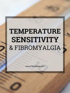 Temperature Sensitivity in fibromyalgia