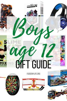 Check out this gift guide for boys age 12 to find the best 10 cool gifts for 12 year old boys. Click here to take a look at this gift guide for boys age 12!