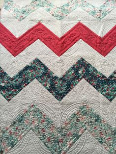 My quilt--won a ribbon in the local quilt show.
