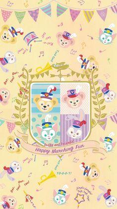 ディズニーダフィー Disney Phone Wallpaper, Friends Wallpaper, Bear Wallpaper, Kawaii Wallpaper, Iphone Wallpaper, Duffy The Disney Bear, Disney Love, Disney Art, Disney Pixar
