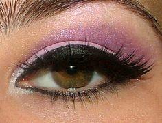Purple pink eyeshadow