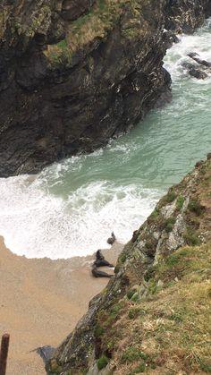 Seals at Polly Joke beach, Cornwall Penzance Cornwall, Newquay Cornwall, Polperro Cornwall, Devon And Cornwall, Cornwall England, Uk Beaches, England Beaches, Woolacombe Beach, Devon Life