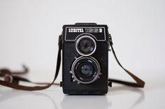 Vintage Medium Format Camera  Lubitel 166B  by CuteOldThings, $52.00