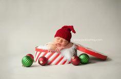 newborn christmas pics   newborn - christmas present :)   baby pics