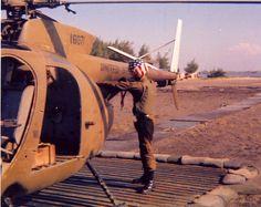 OH-6 Cayuse in Vietnam (LOACH) #VietnamMemories