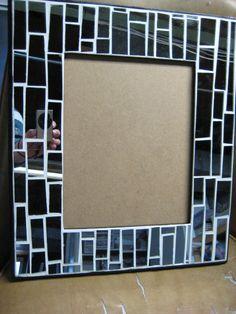 mirror mosaic frame