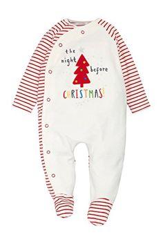 next Unisex Conjunto De Pijama De Una Pieza Pelele Y Gorro Velour Diseño De Navidad (0-18 Meses) #modainfantil #modanavidad #ropainfantil #ropanavidad