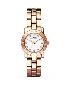 MARC BY MARC JACOBS Mini Amy Rose Gold Watch, 26mm