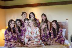 lilac bridesmaid robes - 800×534