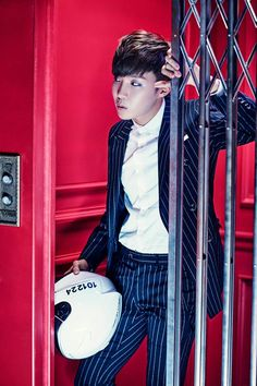 """BTS """"SICK"""" Concept Photo -- 3rd member on the concept -- J-hope"""