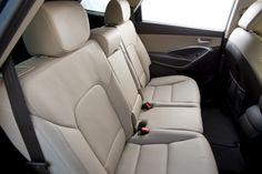 2014 Hyundai Santa Fe GLS Seating Split Fold Down Row Seats with Slide & Recline Function 2014 Hyundai Santa Fe, New Hyundai, Fes, Car Seats, Vehicles, Interior, Indoor, Car, Interiors