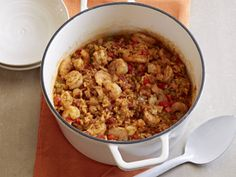 Jambalaya with Shrimp and Ham from FoodNetwork.com