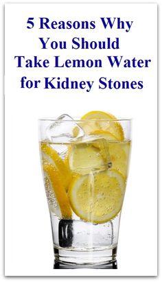 Lemon Juice for Kidney Stones